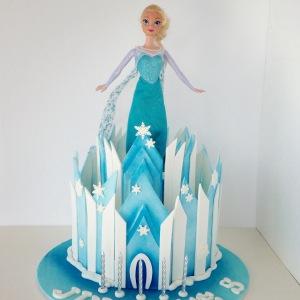 Frozen (Elsa) cake