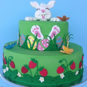 Happy Easter Bunny cakes