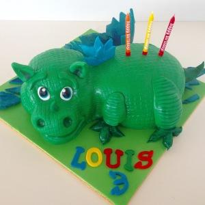 Baby Dino cake