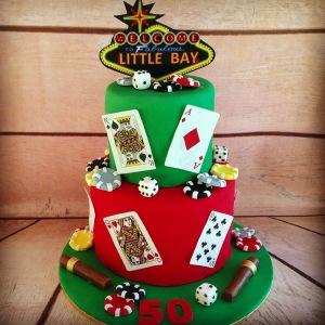 Las Vegas cake